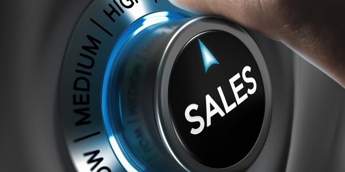 Achieve high sales growth through scaling